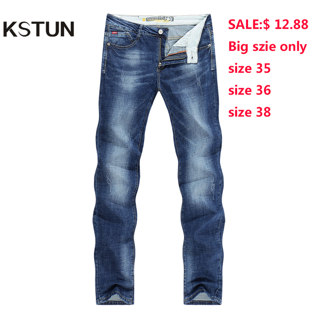 KSTUN для мужчин джинсы для женщин Бизнес повседневное тонкие летние прямые Slim Fit синие джинсы стрейч джинсовые брюки мотобрюки классически