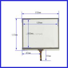 Zhiyusun 132 мм * 115 сенсорный экран 57 дюйма для gps навигатора