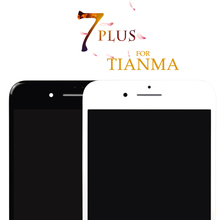 NO dead pixel for tianma 5pcs DHL  For pantalla iPhone 7 Plus LCD Display Screen Replacement parts Digitizer Assembly