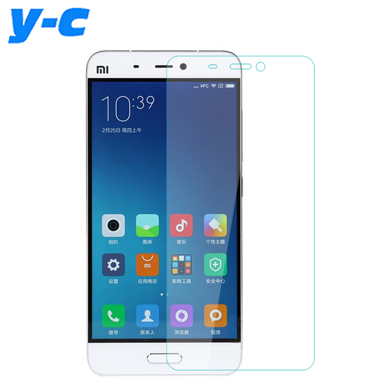 For Xiaomi Mi5 Tempered Glass 9H 2.5D Scratch Proof Guard Screen Protective Film For Xiaomi Mi 5 M5 Mobile Phone