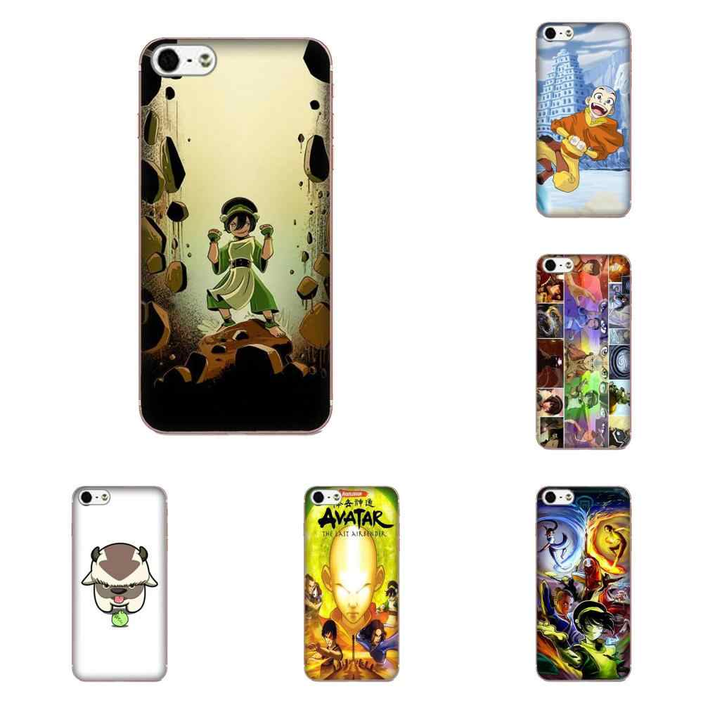 Avatar The Last Airbender Aang Casca Mole transparente Para Galaxy J1 J2 J3 J330 J4 J5 J6 J7 J730 J8 2015 2016 2017 2018 mini Pro
