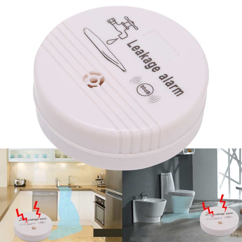 Wireless Sensor Water Overflow Detector Leakage Alarm Buzz Warning Home SecurityWireless Sensor Water Overflow Detector Leakage Alarm Buzz Warning Home Security