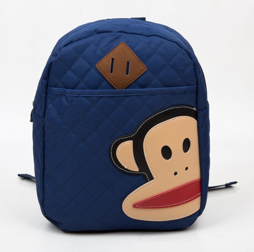 5 Colors Monkey Printed Children's Backpack Kids Preschool Child ...