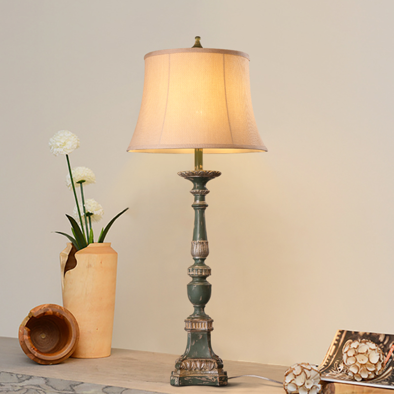 Commercial Table Lamps: Retro Restaurant Table Lamp Idyllic Warm Living Room