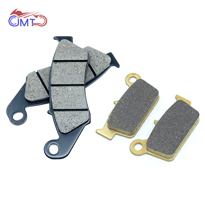 For Yamaha YZ125 YZ250 YZ450 YZ450F 2003-2007 WR250F 2003-2018 WR250R 2008-2015 WR450F 2007-2015 Front Rear Brake Pads Kit Set image