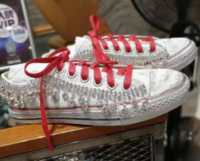 1 Bricolage 4 Décontracté 13 De 12 Luxe Chaussures Blanc 5 6 11 Style Old Rétro 9 15 Sales 10 14 Diamant Lumière 2 Femmes Plat Dentelle 8 7 Coréenne 3 rUwOrvqZ