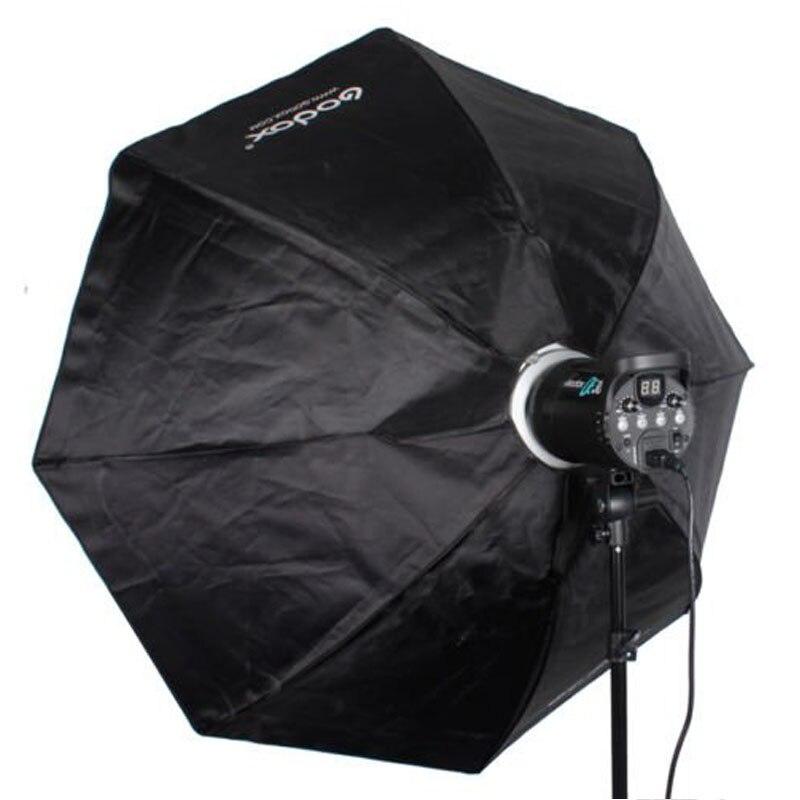 GODOX 120cm Octagon Flash Light Soft Box / Umbrella Softbox Browens mount godox sb bw 120 120cm gosbo120bw