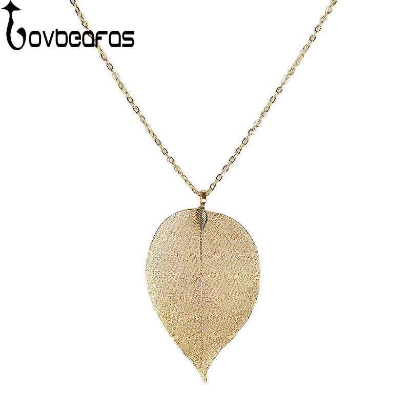 LOVBEAFAS Unique Maxi Long Necklace Womens