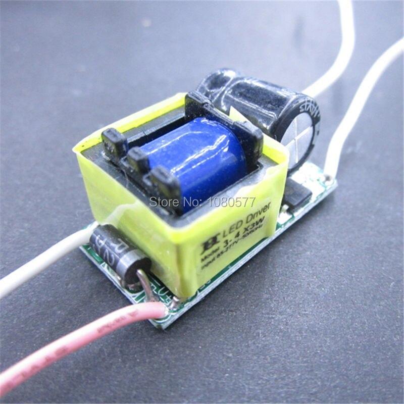 10pcs 3-4x3w izolyasiya LED sürücüsü AC85-277V DC9-14V, 3x3w 4x3w - İşıqlandırma aksesuarları - Fotoqrafiya 3