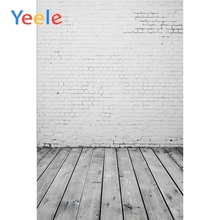 Yeele Brick Wall Wooden Board Floor Baby Portrait Scene Photography Background Doll Props Photographic Backdrop For Photo Studio