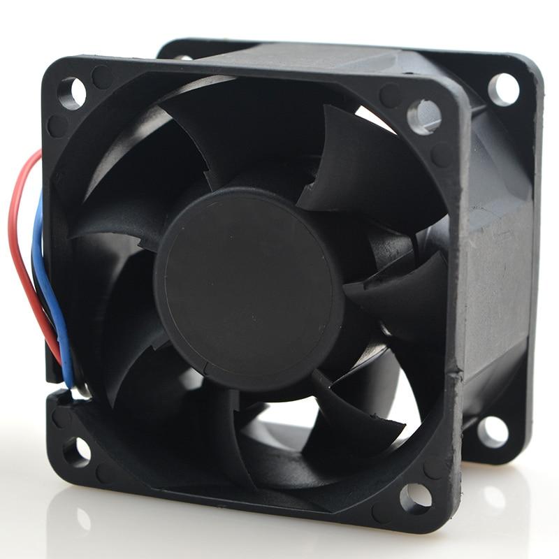 Для delta 6038 6 см FFB0612HHE 24 В 0.34A большой объем двойной шариковый вентилятор охлаждения 5050 об/мин 40CFM