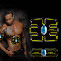 Hiqh Quality EMS Wireless Electric Massager Electrotherapy Back Pain Relief ABS Fit Muscle Stimulator Abdominal Muscles