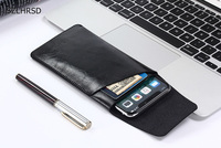 Ultra Thin Bag Super Slim Vintage Microfiber Leather Case Stitch Sleeve Pouch Cover For Vodafone Smart