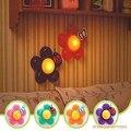 Bebés y niños niños decoración de la habitación de vivero de noche LED lámpara de luz nocturna de la flor