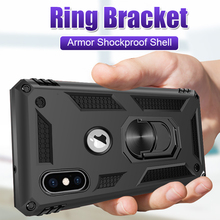 Luxury Armor Shockproof Soft Phone Case For iphone 8 7 6 6s Plus X XS XR Phone
