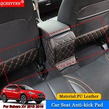 Qcbxyyxh автомобиль-Стайлинг 3 шт. Интерьер протектор боковой кромки защиты площадки Наклейки для автомобиля анти-Kick коврики для Subaru XV 2018 2019