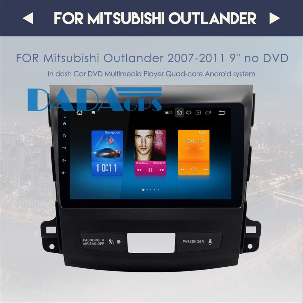 Android 8 0 7 1 Radio Car GPS Navigation For Mitsubishi Outlander 2006 2012 For Citroen