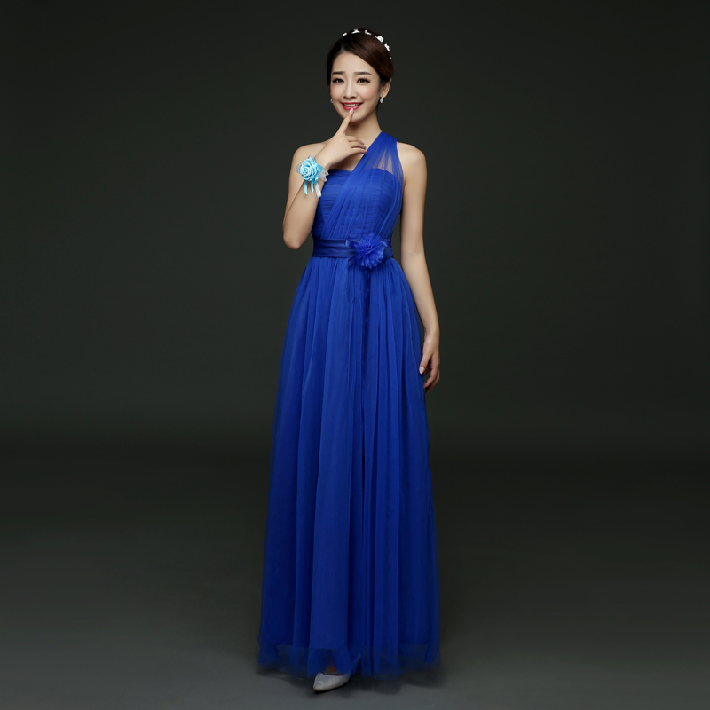 Elegant Applique Flower Wedding Gowns Casual Girls Party Dresses for Size 14 15 16 17 18 Royal Blue Long Dress Graduation 2018 автокресло cybex solution x blue moon