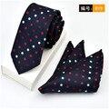 Cityraider marca 6 cm pescoço magro laços para homens gravatas lenço Set 2016 Novo Gravata Dos Homens Casamento Quadrado Bolso Gravata Conjunto B010