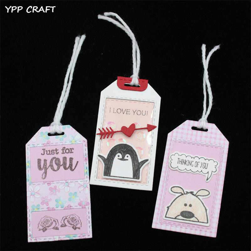 YPP CRAFT New Labels Metal Cutting Dies Stencils for DIY Scrapbooking/photo album Decorative Embossing DIY Paper Cards