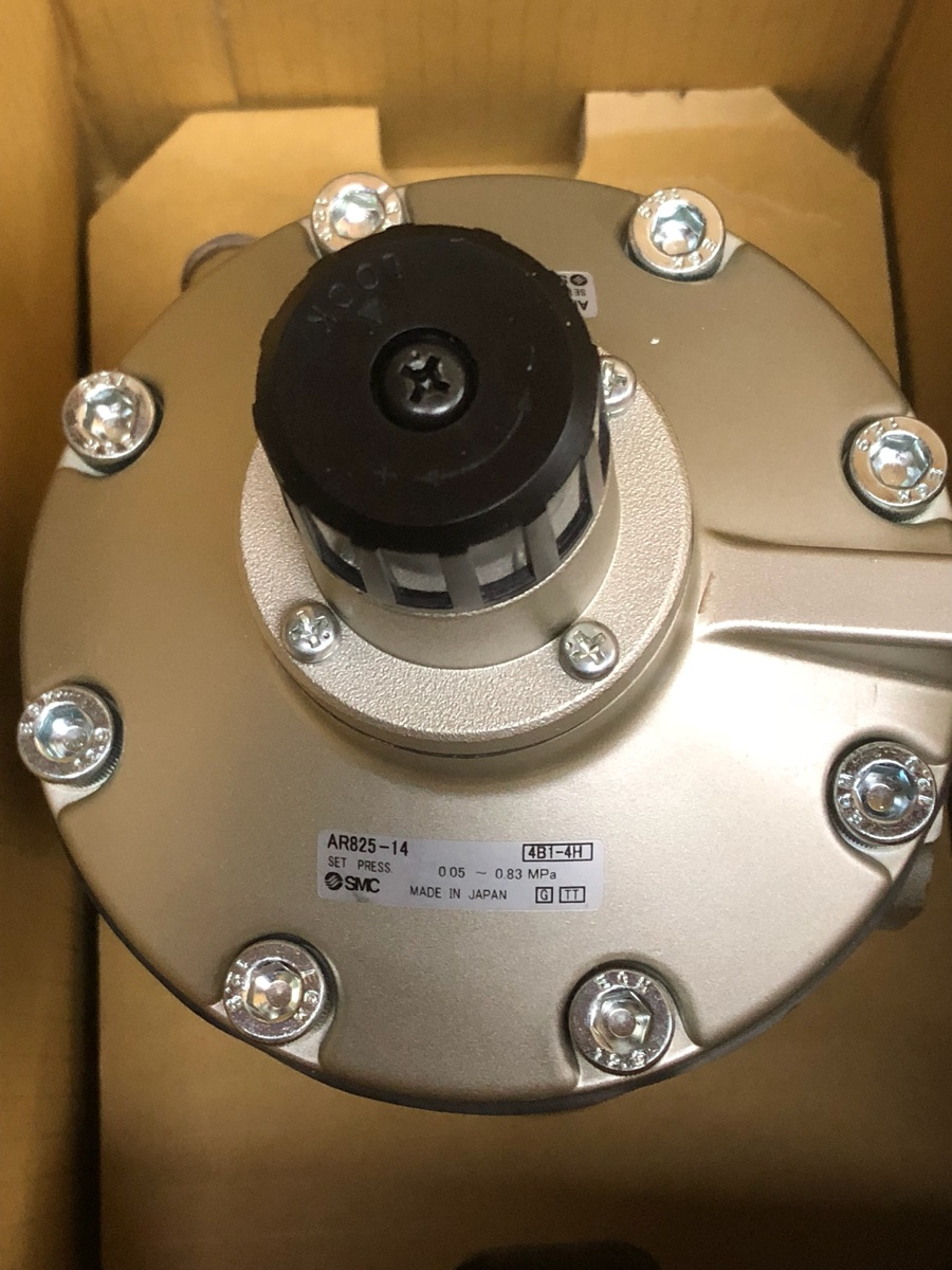Japan SMC new original large diameter pressure reducing valve AR825-14 vhs40 02 new original authentic smc pressure relief valve filter switch