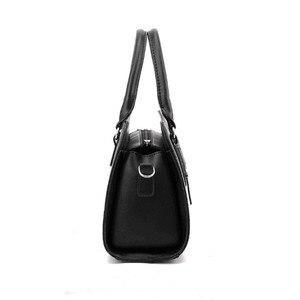 Image 4 - Vendita calda moda donna borsa in pelle inclinata femminile fiocco nodo borse a tracolla borse Lady Shopping Tote borsa a tracolla morbida Sac