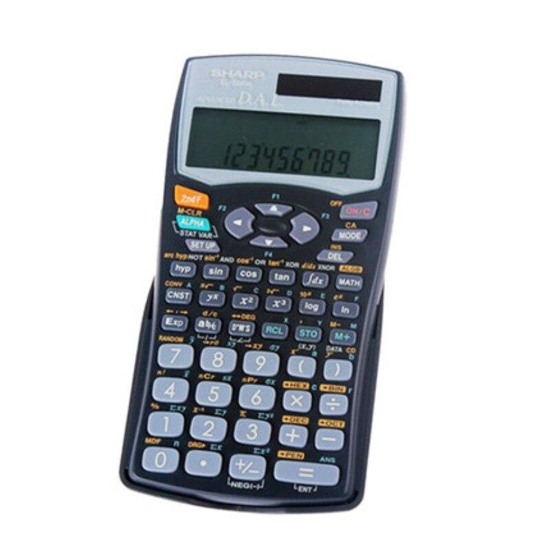SHARP EL-506W Students Scientific Calculator Function Multi-step Reproduce Along Abundant Examination Examination