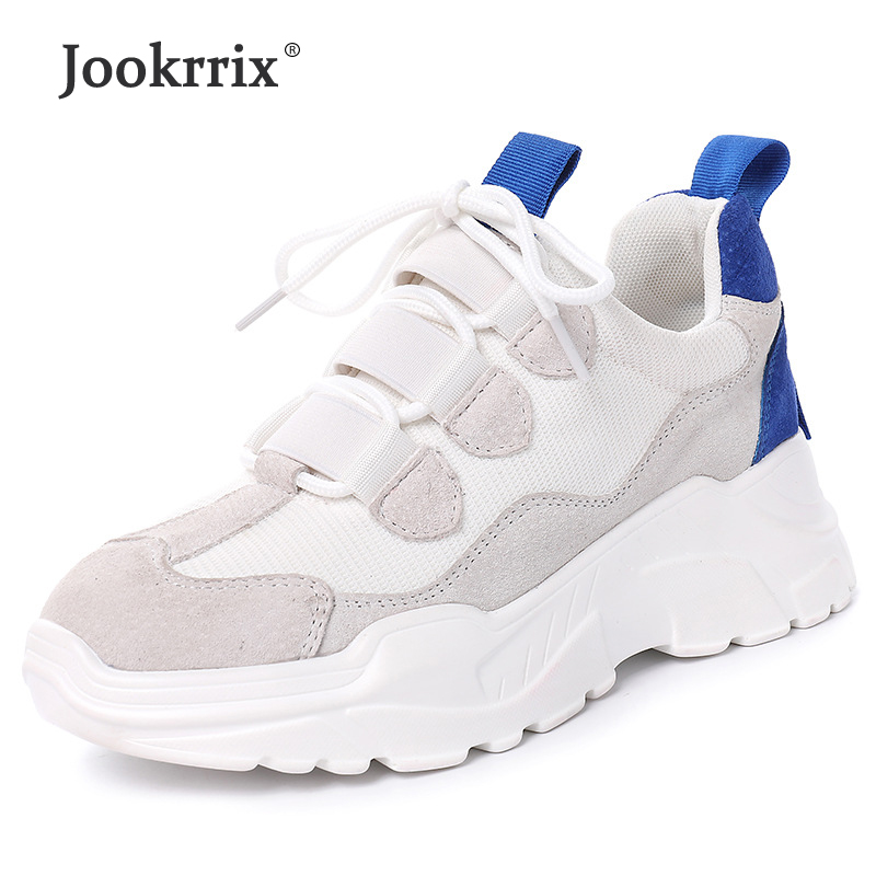 Jookrrix Shoes Women Fashion Brand Sneakers Lady chausure Mesh Autumn Female footware Breathable Girl Shoes All