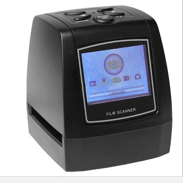 Mini 5MP 10MP 35mm Portátil SD Visualizador de Filme Foto de digitalização Scanners de Slides Filme Negativo Scanner USB deslize LCD