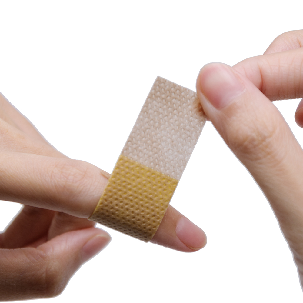 50pcs/box Band-Aid Brand Flexible Fabric Adhesive Bandages For Minor Wound Care Waterproof Breathable Bandage Adhesive 5