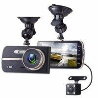 Gotomato Full HD 1080P 4 Inch IPS HD Screen 2 Lens Car DVR Camera Video Recorder
