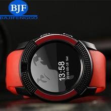 Q9 reloj inteligente Bluetooth podómetro deportes y soporte de la cámara SIM smartphone Android smartphone Ruso T15