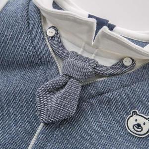 Image 4 - DBW8557 dave bella baby jungen kleidung kinder langarm kleidung sets kinder boutique outfits jungen mit krawatte gentleman sets