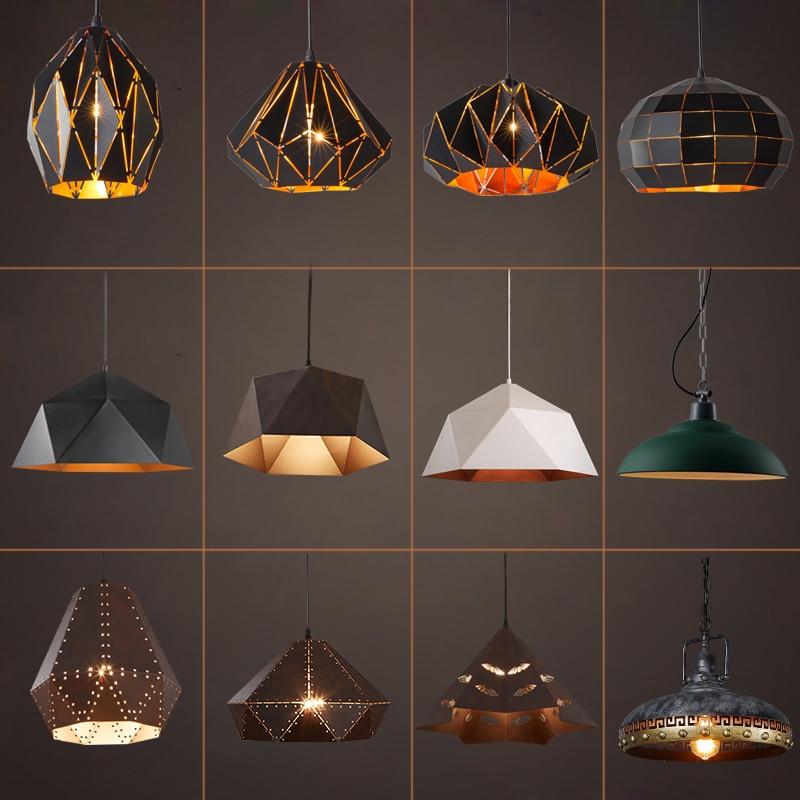 купить industrial Vintage rope pendant Lights retro Pendant Lamp lamparas colgantes luminaire suspendu Dinning Room lighting fixture по цене 5989.22 рублей