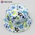 2017 Baby Summer Hat Girls Flower Sun Cap Children Leisure Canvas Fisherman Hat
