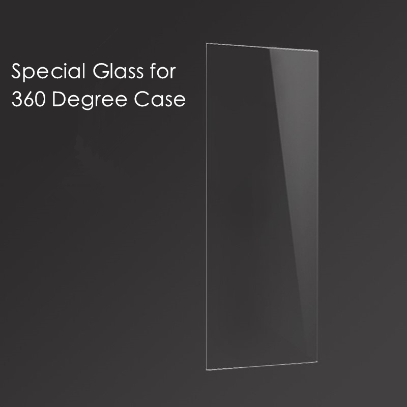 360 Degree Full Cover Special Use Tempered Glass For Iphone 5 5s Se 6 6s 7 Plus (can Not Be Used Alone)