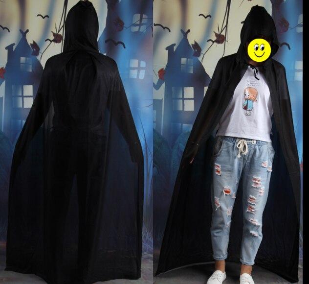 2016 hot Novel design Kids Halloween Wizard Death Cloak Dress Up Cosplay Vampire Devil Cloak Party supplies