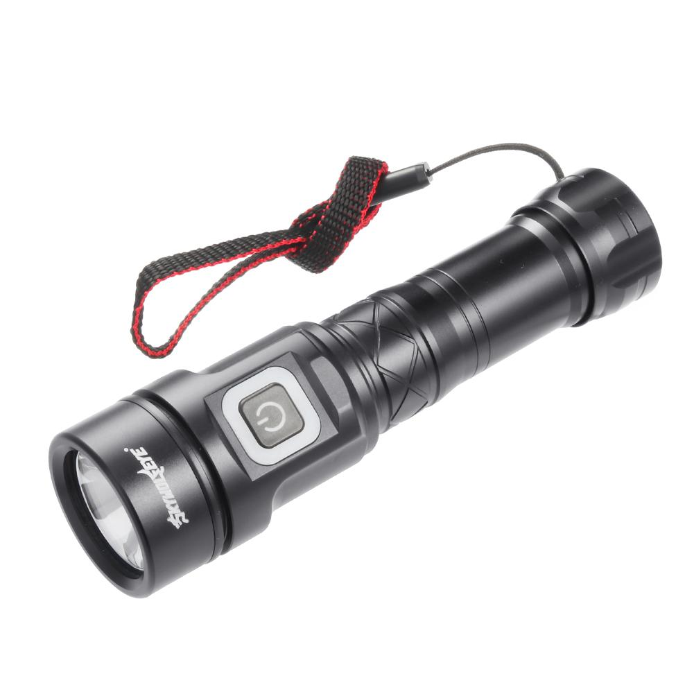 Rechargable High Power Flashlight LED Torch Protable Flashlight Lamp WT