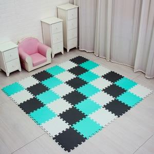 Image 5 - Mei Qi Cool Baby Eva Foam Play Puzzel Mat Voor Kids Grijpende Oefening Tegels Vloer Tapijt Tapijt, elke 29X29cm18 24/ 30 Pcs Playmat