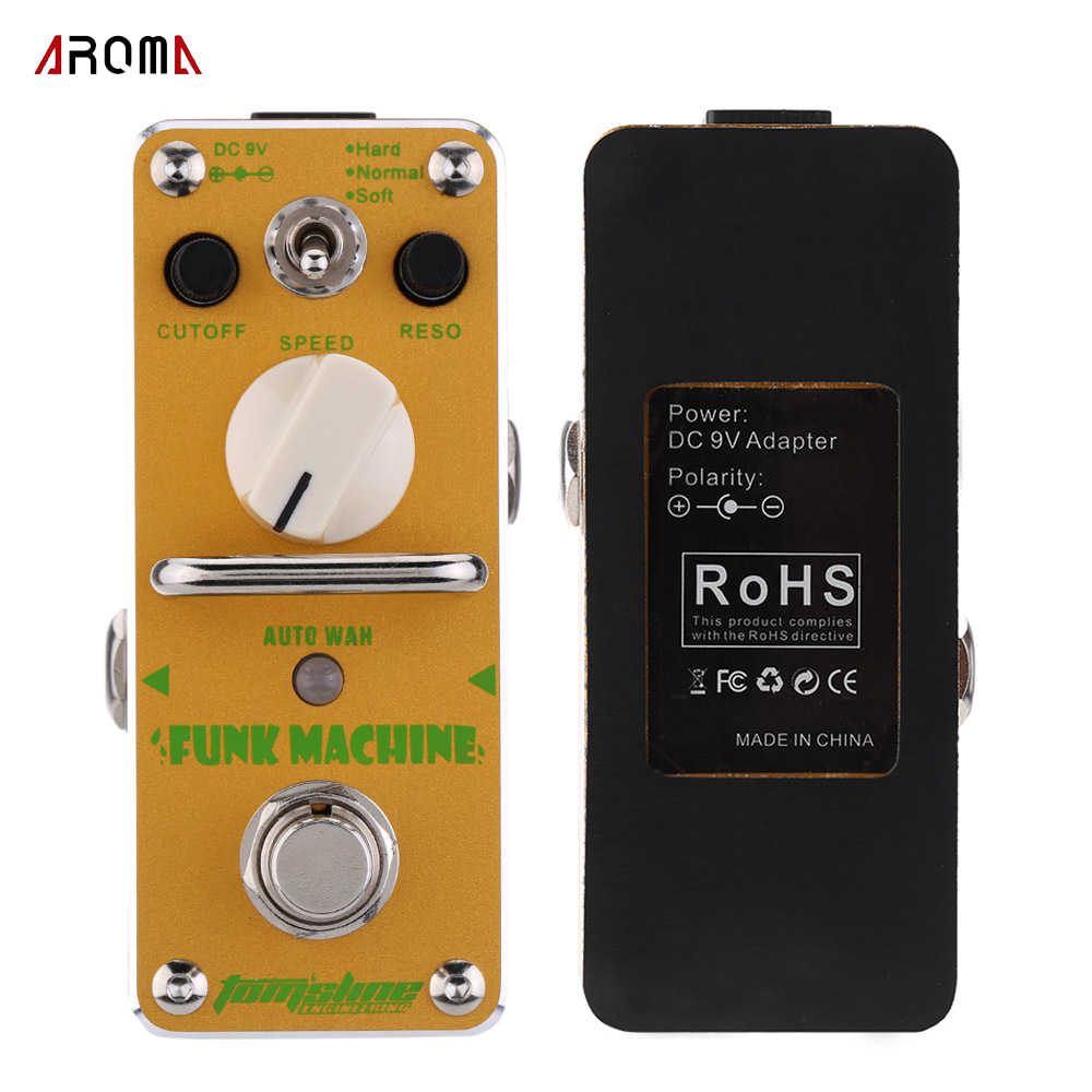 guitar accessories aroma guitar pedal tom 39 s line engineering afk 3 funk machine auto wha pedal. Black Bedroom Furniture Sets. Home Design Ideas