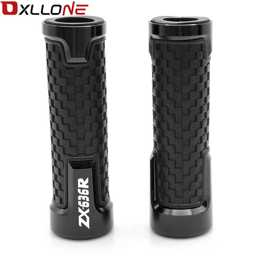 "Image 3 - Universal Accessories 22mm For 7/8""Motorcycle Handle bar caps Handlebar Grips For KAWASAKI ZX636R ZX 636R ZX 636 R 2000 2016-in Grips from Automobiles & Motorcycles"