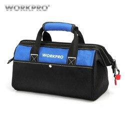WORKPRO ручная сумка для инструментов электрик сумка органайзер для инструментов водонепроницаемая сумка для хранения инструментов