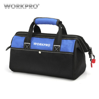 WORKPRO الرجال اليد حقيبة ل أدوات أكياس الكهربائية حقيبة للماء أداة حقيبة التخزين