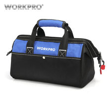 WORKPRO Tool Hand Bag Electrician Bag Tool Organizers Waterproof Tool Storage Bag(China)