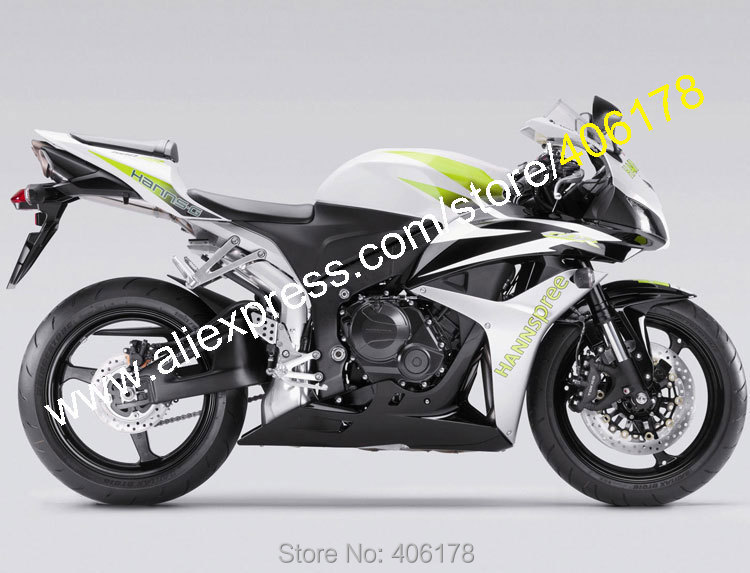 Hot Sales,For Honda CBR600RR 2007 2008 CBR600 RR CBR 600 RR 07 08 F5 Hannspree Motorcycle fairing Body Kit (Injection molding) hot sales for honda cbr600rr 2003 2004 cbr 600rr 03 04 f5 cbr 600 rr blue black motorcycle cowl fairing kit injection molding