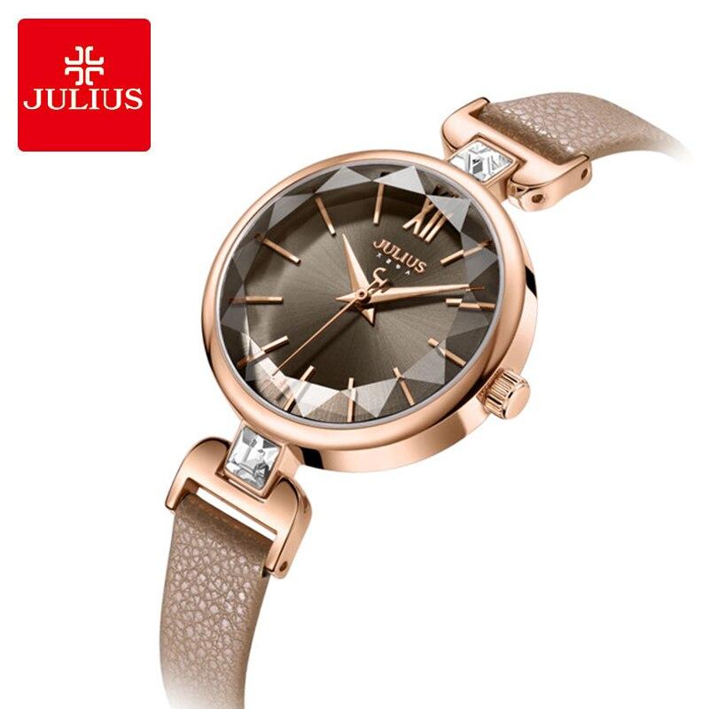 de couro relógios relogio feminino