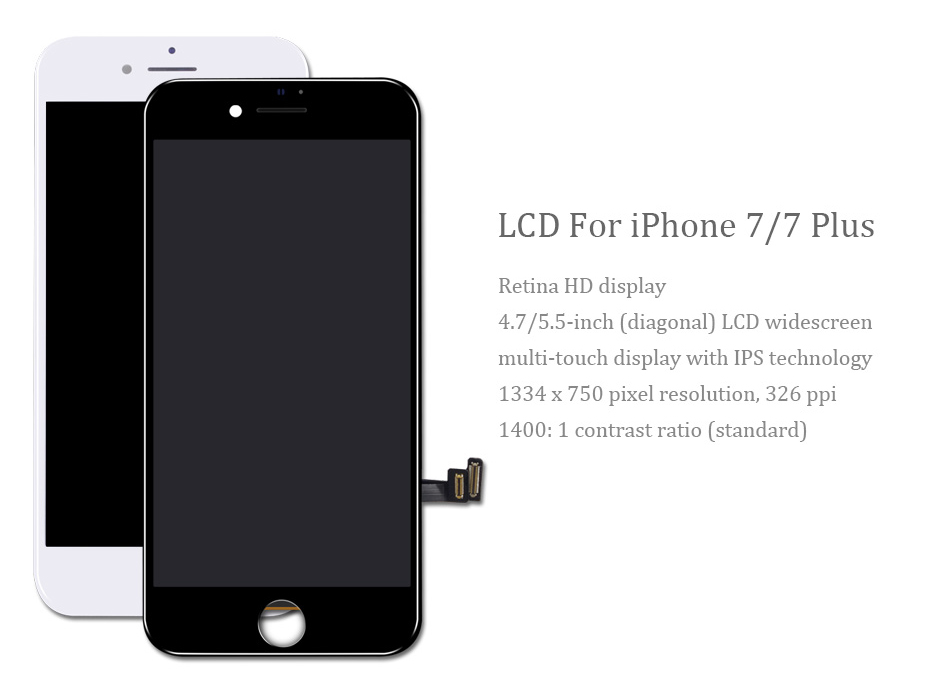 2018 New PINZHENG AAAA Quality Screen LCD For iPhone 7 Plus Screen Touch Display LCD Digitizer 7 Plus Screen LCDS Replacement (1)
