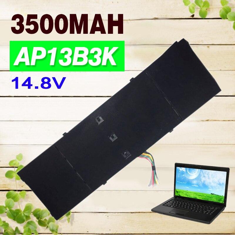 Apexway 3500mAh 14.8V Laptop Battery For Acer V5-472 V5-572P R7-571 ES1-51 V5-472G V5-552PG ES1-511 V5-552P ap13b8k ap13b3k ap13b8k 4icp6 60 80 battery for acer aspire v5 m5 583p v5 572p v5 572g r7 571 r7 572 r7 572g ap13b3k