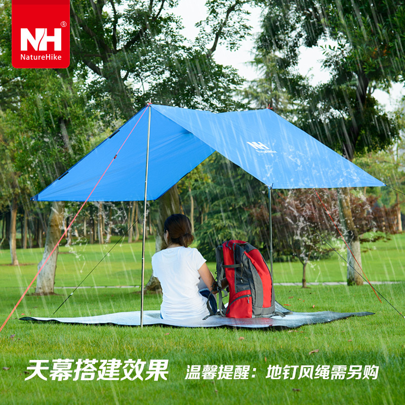 Outdoor Poncho Raincoat Women\Men Climbing Cycling Rain Cover Waterproof C&ing Tent Mat Travel Equipment orange\blue-in C&ing Mat from Sports ... & Outdoor Poncho Raincoat Women\Men Climbing Cycling Rain Cover ...