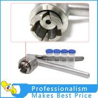Hot Stainless Steel Manual Vial Crimper 20mm Flip Off Caps Hand Sealing Machine